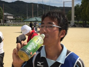 のどが渇いた淳三